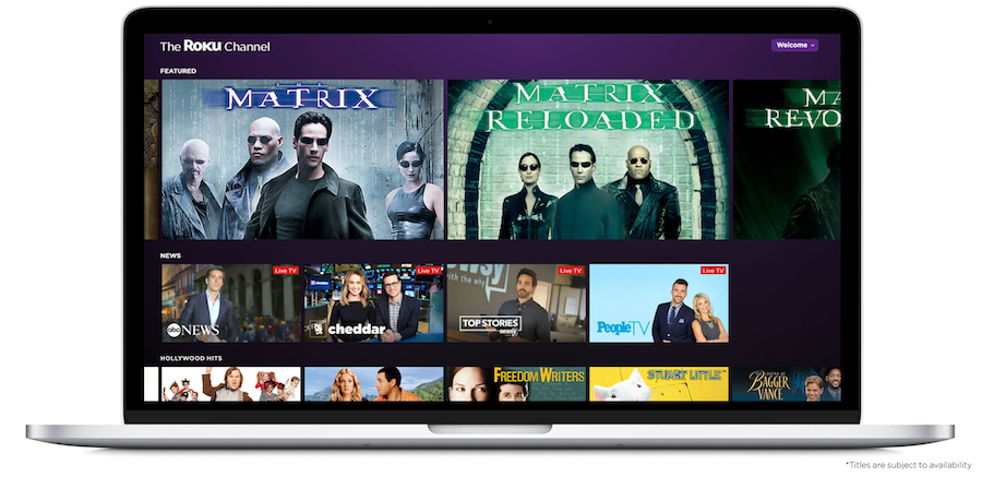 The Roku Channel web Aug 2018
