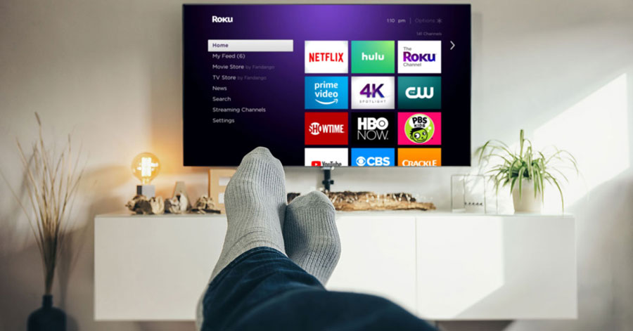 roku streaming with roomates