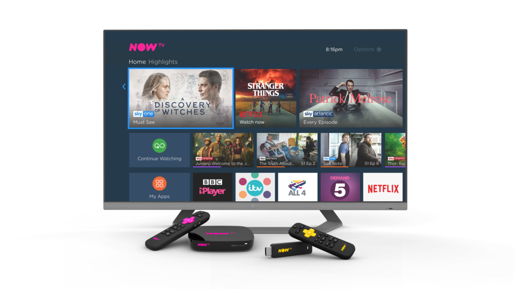 Sky launches Roku Powered NOW TV Smart Box with 4K & Voice