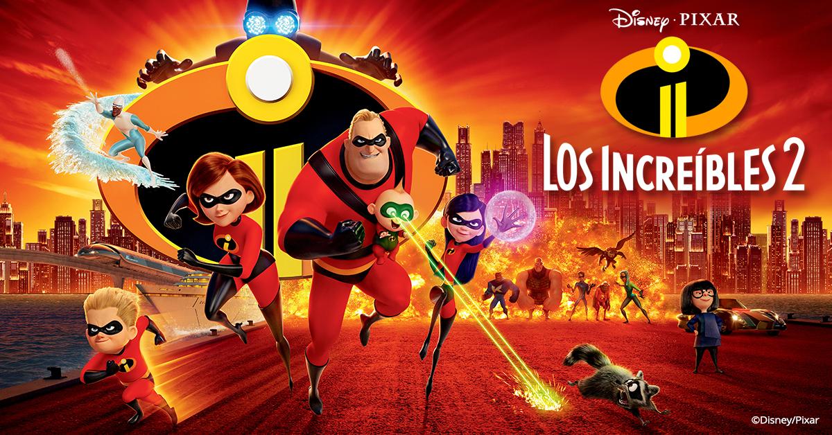 Incredibles 2 en Cinépolis KLIC