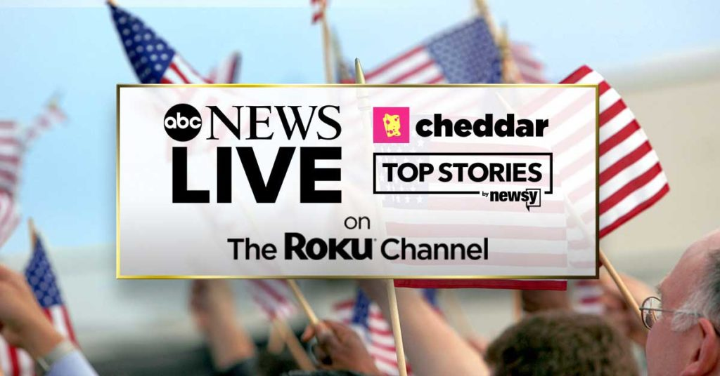 live news on the roku channel
