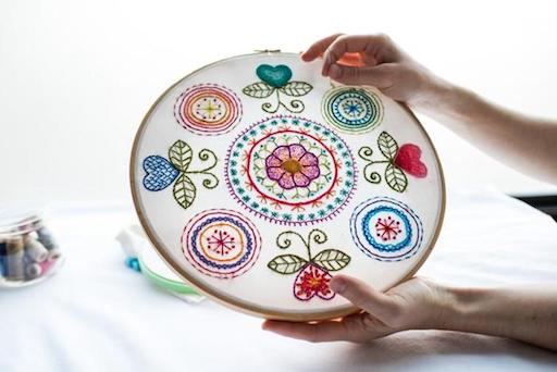 Hand embroidery_Bluprint