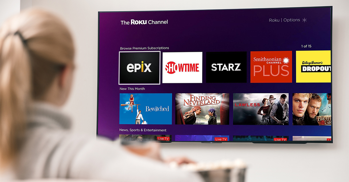 Premium Subscriptions on The Roku Channel has arrived