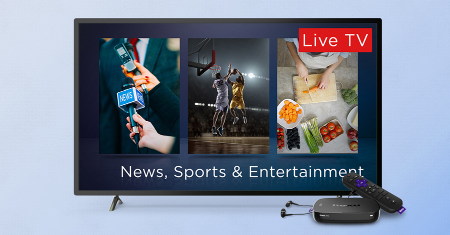 live and linear the roku channel