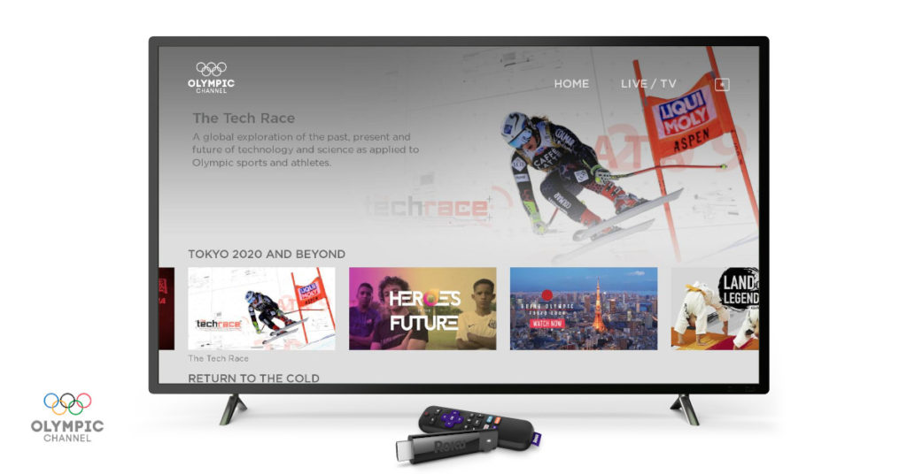 Olympic Channel now available on Roku streaming devices!