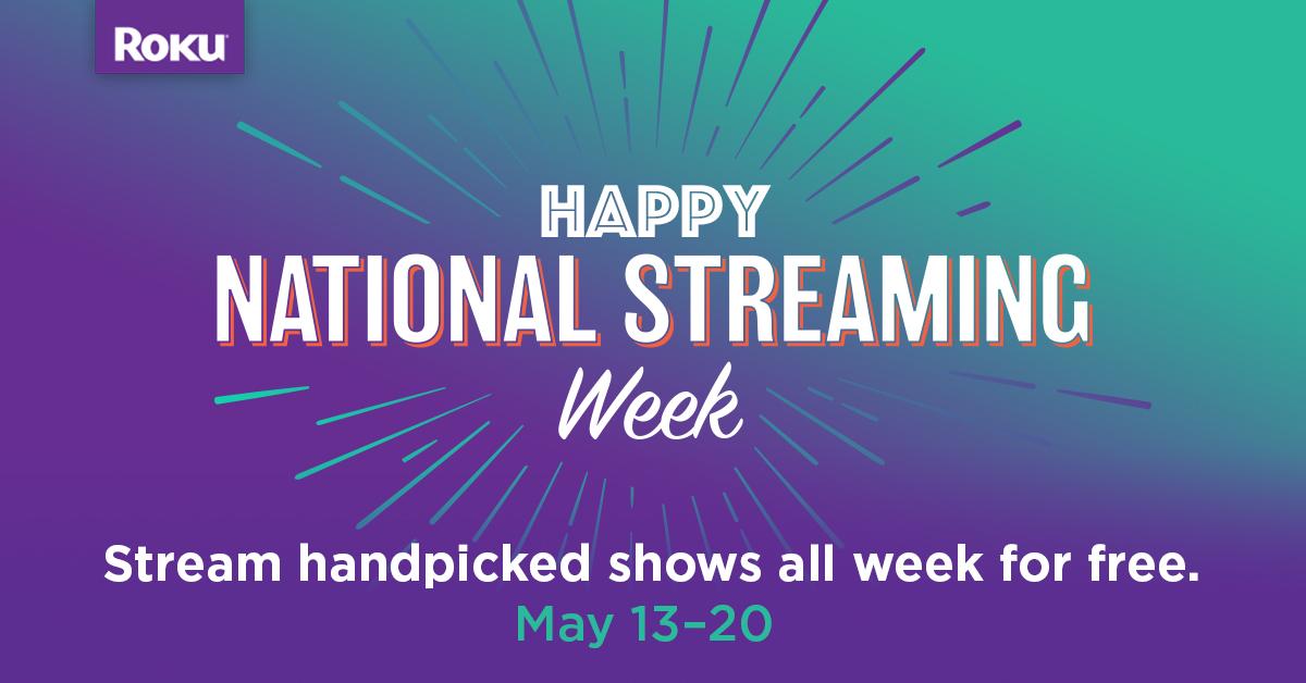 National Streaming Week: free entertainment, giveaways