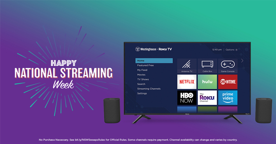 national streaming week sweepstakes
