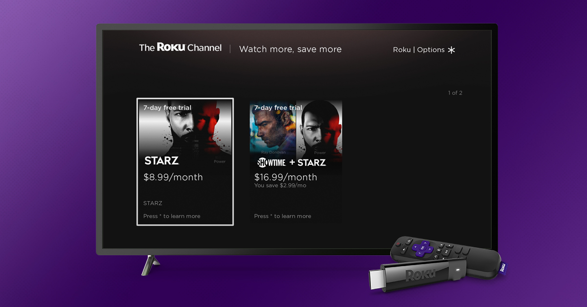 the roku channel bundles