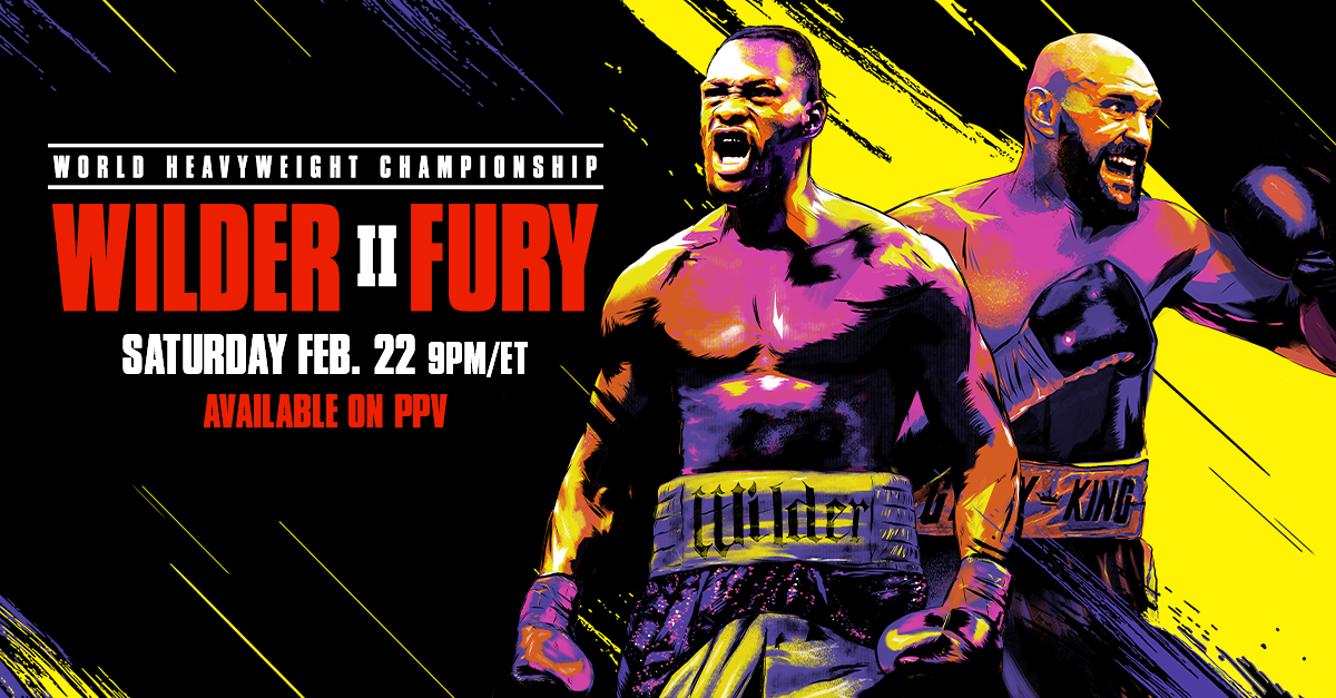 wilder fury roku