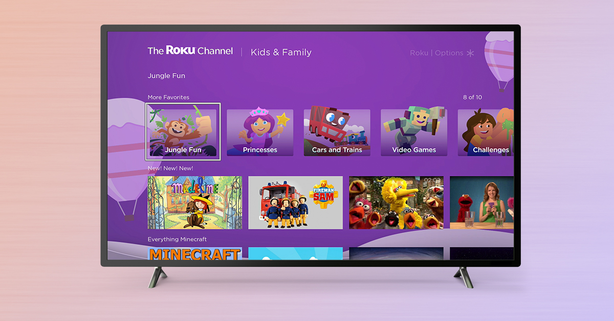 the roku channel kids and family