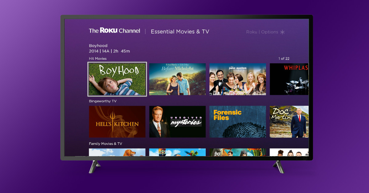 Movies And Tv Shows On The Roku Channel