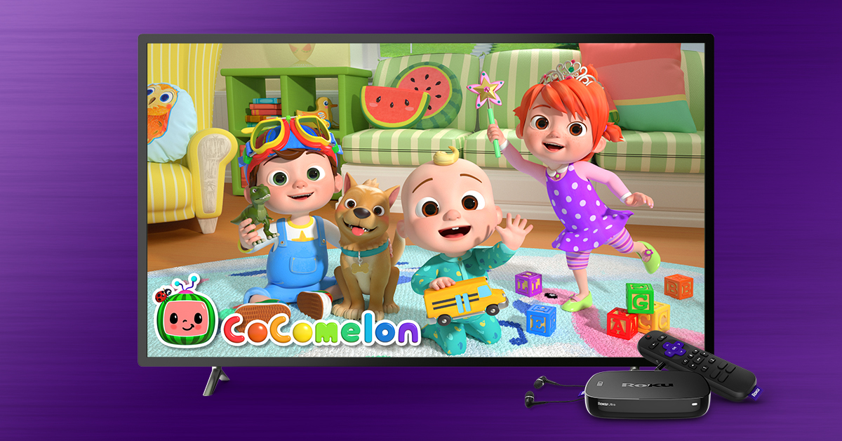 cocomelon on the roku channel