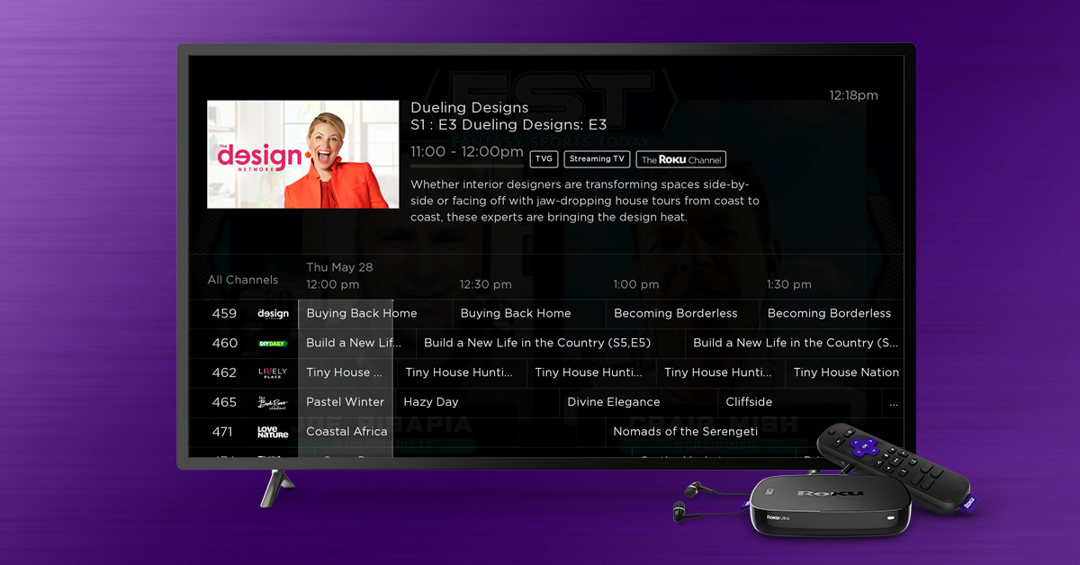 Live Tv Channel Guide On The Roku Channel Roku