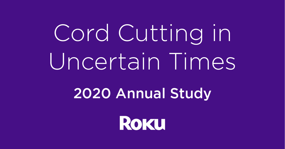 roku cord cutting study