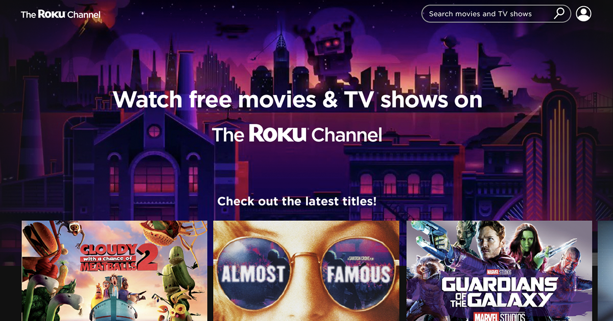 free movies the roku channel