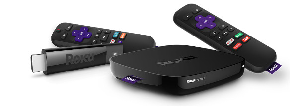 Roku streaming stick and Roku player