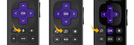 What do I need to use voice commands with my Roku® streaming