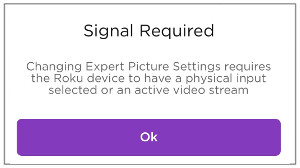 How do I use Expert Picture Settings to adjust my Roku TV