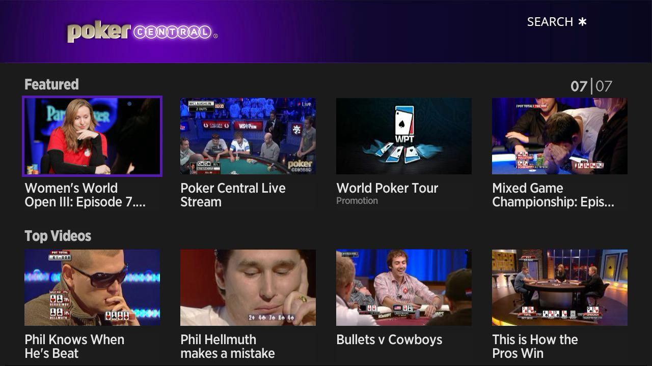 poker central tv channel
