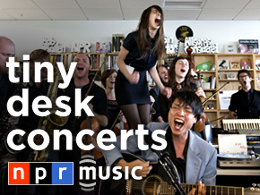 Tiny Desk Concerts from NPR