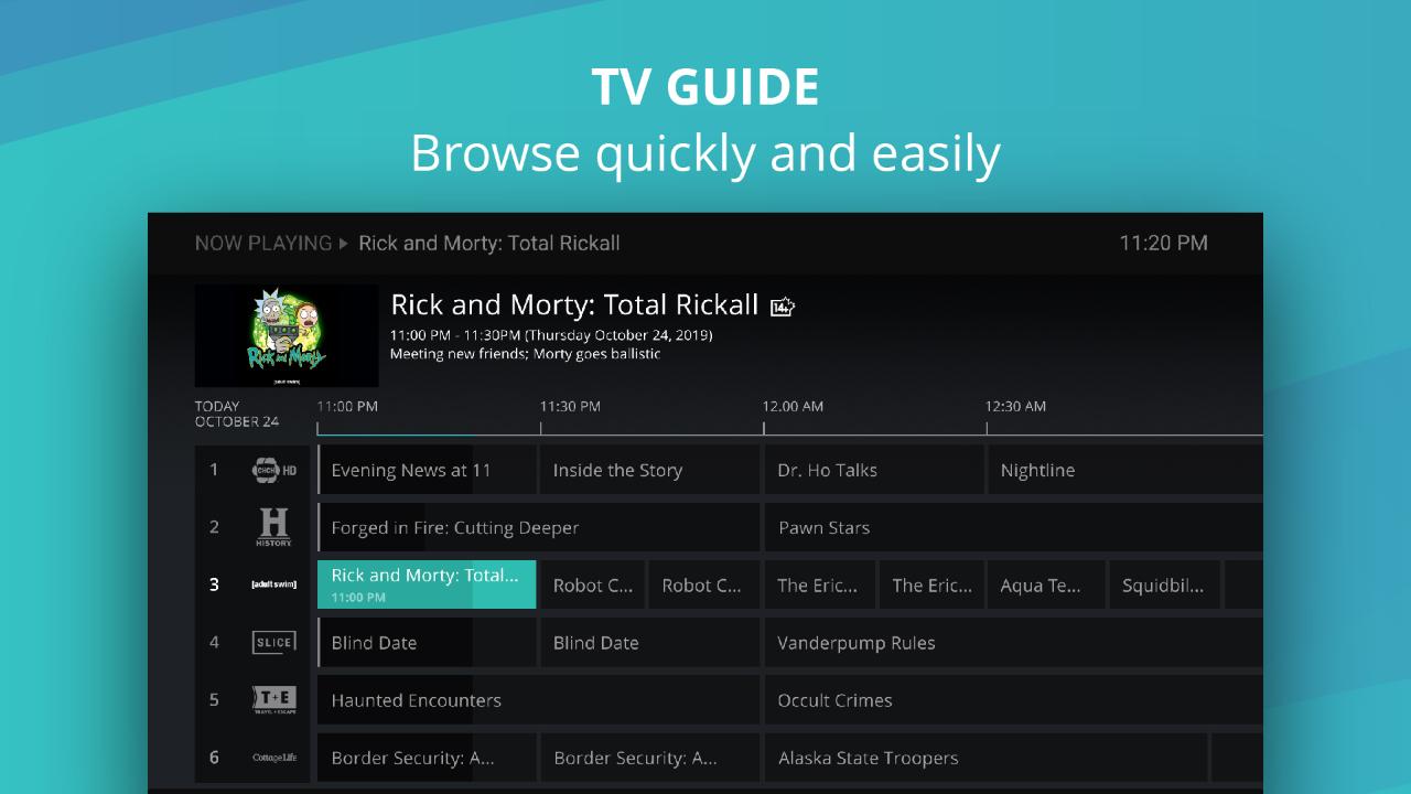 RiverTV screenshot