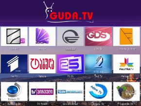 Guda TV - Live TV from Republic of Georgia  | TV App | Roku Channel Store | Roku