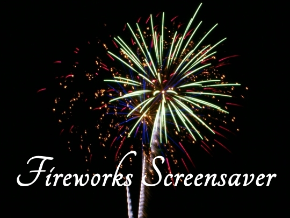fireworks screensaver