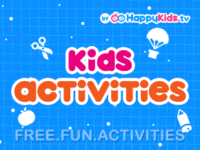 Kids Activities byHappyKids.tv Logo