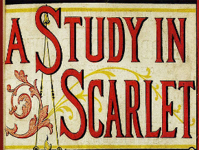 A Study in Scarlet Logo