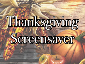 Thanksgiving Screen Saver