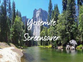 Yosemite Screensaver