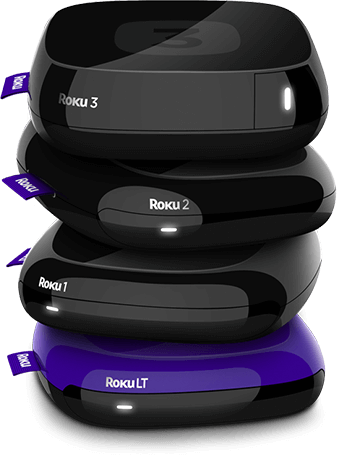 Roku 3, Roku 2, Roku 1, and Roku LT