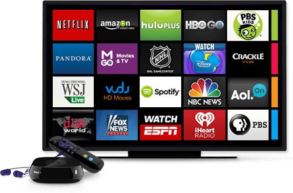 Roku 3 and TV