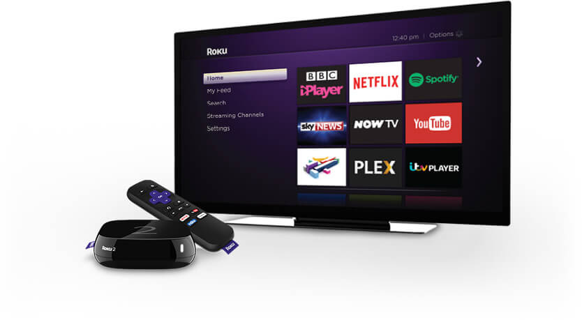 Roku has over 1,400 channels