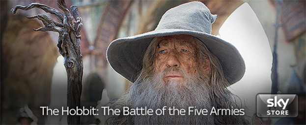 Sky Store: The Hobbit: The Battle of the Five Armies