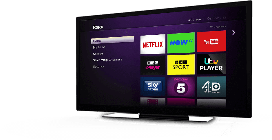 Roku Homescreen