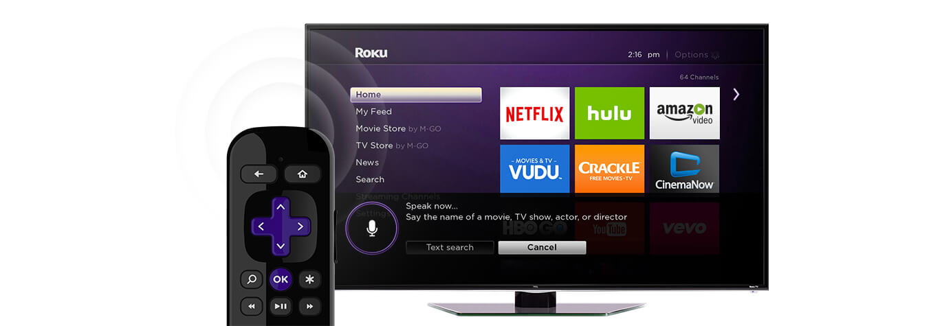 Roku Search. Find it Fast.