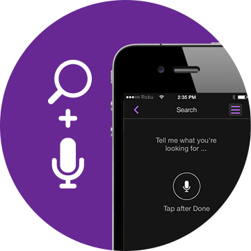 Features: Voice Search