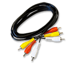 6 ft. Composite A/V Cable (RCA to RCA)