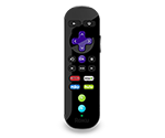 Roku 3 Enhanced Game Remote with Channel Shortcut Buttons