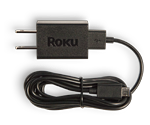 Roku® Streaming Stick® (HDMI® Version) USB cable + power adapter